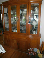 Dining Room Set - Table 6  Chairs, and Buffet and Hutch