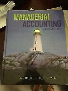 Managerial Accounting 10th edition Garrison Ray