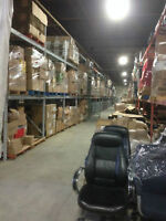 40,000 square foot warehouse - Skid / Storage Space Available