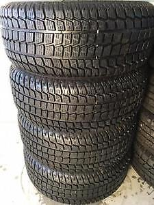 SET OF 4 WINTER TIRES 245 55 R 18 FIRESTONE WITH 80%