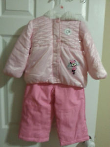 New Minnie mouse girls snow suit 3T