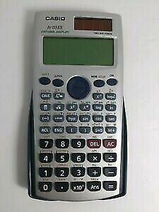 Casio solar scientific calculator
