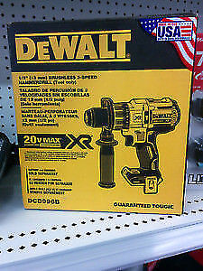 Brand new Dewalt Dcd996b 20v max xr brushless (made in usa).