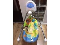 Fisher Price Rainforest Baby Swing