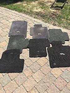 Acura TL Carpet OEM mats, front and back