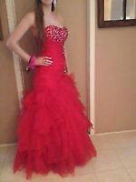 Robe de Bal rouge