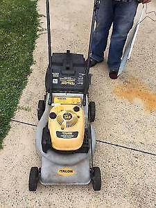 Talon Lawn Mower plus Talon Whippersnipper = job lot, Prahran Stonnington Area Preview