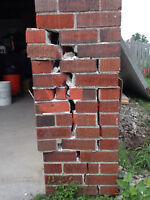 Porch repairs  and repointing