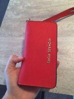 michael kors Iphone wallet RED