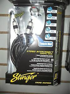 STINGER INTERCONNECT 8000 SERIES RCA - 2 CHANNEL - 6FEET