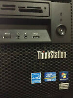 Lenovo ThinkStation Core i7 3.4 GHz  ON HOLD UNTIL 1PM