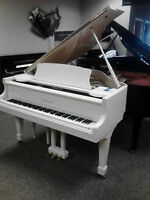 Piano à Queue Samick Blanc baby Grand Piano Modèle SG155