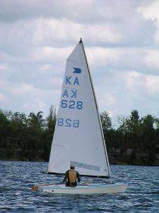 OK Dinghy 628 Seabrook Hobsons Bay Area Preview