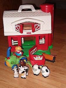 Fisher price barn& animals&tractor,or fisher price airport