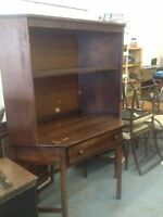 solid wood TV hutch / desk