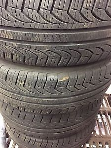 Multi brand and sizes tires