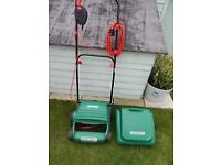 INFREQUENTLY USED QUALCAST CONCORDE 320 ELECTRIC LAWN MOWER