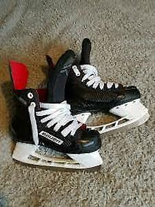 Two Bauer NS Youth Hockey Skates size 13
