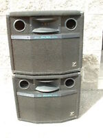 Yorkville Micron 600 Speakers AUDIOPRO 1212 powered mixer.