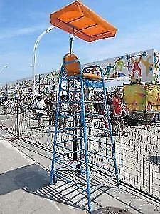 PAN AM GAMES EVENT HIGH CHAIR - SPORTING EVENTS - AS NEW