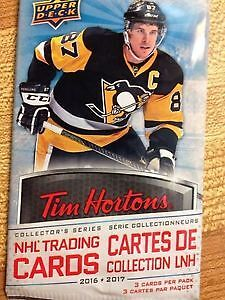 UPDATED OCT 26th. 2016 - 2017 Tim Horton hockey cards to trade.