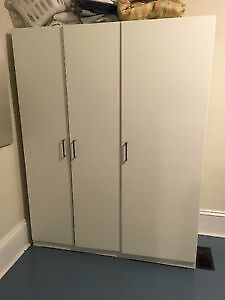 NEW PRICE!! IKEA Wardrobe - less than a year old