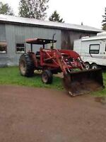Tractor / tracteur Case 585
