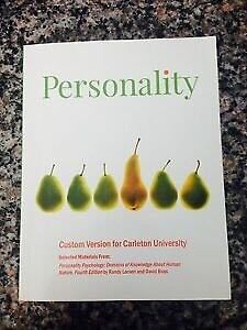 PERSONALITY PSYCHOLOGY 1/CDN ED
