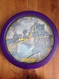 Harry Potter Philosphers Stone Clock £5