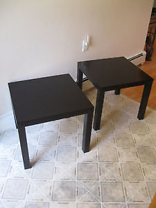 PRICE DROP 2 Great looking end tables great 4 first apt.