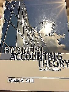 7th edition accounting buy or sell books in toronto gta financial accounting theory 7th edition william r scott fandeluxe Choice Image