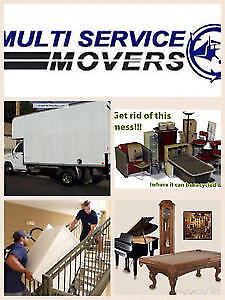 **MULTI SERVICE MOVERS MONTREAL TORONTO***JUNK REMOVAL West Island Greater Montréal image 5