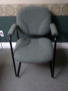 Green red and blue chairs-clearing unused/excess