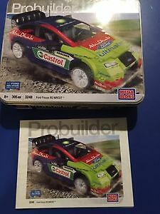 Mega Bloks Ford Focus RS 3248 in original Metal Tin