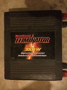 MotoMaster Eliminator Power Inverter 3000w rv solar