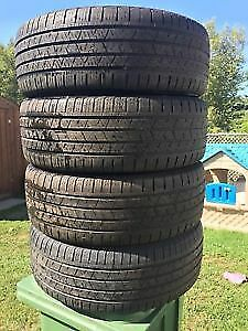 265/65/18 michelin or continental with 80%