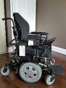 Like New Electric Wheelchair - Used few times only - Invacare TDX SP