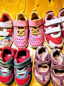 GIRLS shoes size 5-10 (Nike, Adidas, Stride Rite) $12 each pair