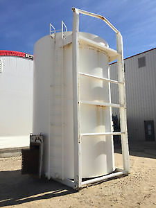 For Sale One Used 210 bbl tank