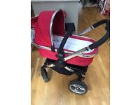 iCandy peach tomato travel system