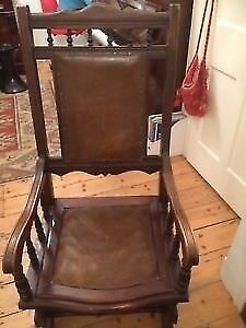 Vintage american rocking chair Wimbledon