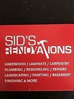 Renovation --- services