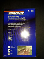 Simoniz walkway washing kit, NEW