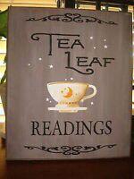 Do you do tea readings?