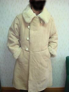 Soviet army military Officer Winter Sheepskin Coat TULUP Bekesha