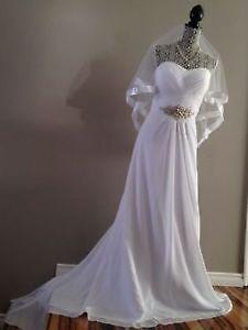 Elegant Wedding Dress Sweetheart with Sparkly Belt!