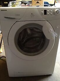 Hoover WMH148DF 8kg 1400Spin White LCD A+AA Rated Washing Machine 1 YEAR GUARANTEE FREE FITTING