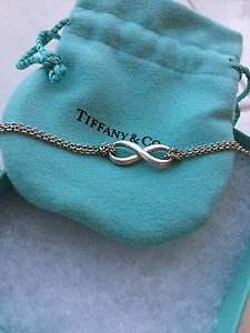 AUTHENTIC Tiffany & Co Infinity Pedant Sterling Silver