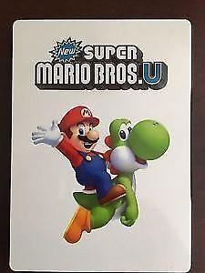 Mario bros Wii U steel book
