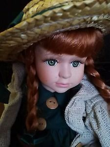 Uniquely Canadian-Anne of Green Gables Doll